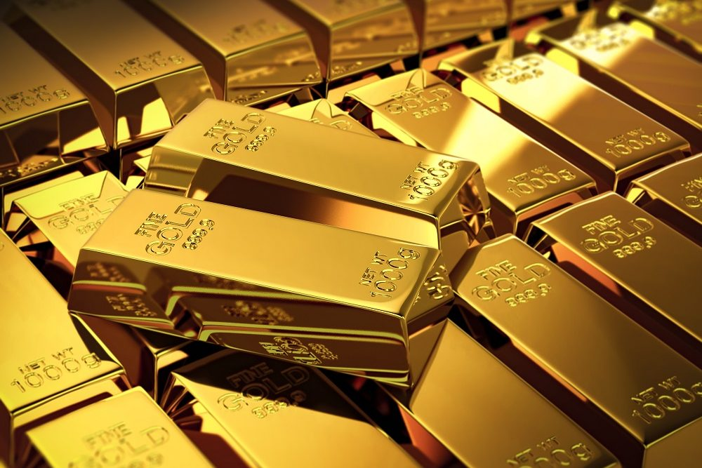 Gold, Metal, Ingot, Gold Colored, Investment, computer graphic
